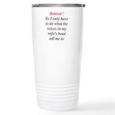 Cute Husband and wife humor Travel Mug