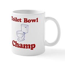 Toilet Bowl Champ Fantasy Football Lose Mug