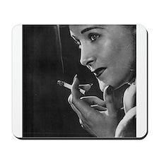 vintage smoking Mousepad