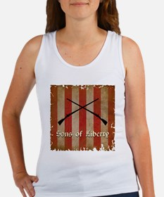 Sons of Liberty Flag Tank Top