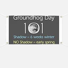 Groundhog Day 101 Banner