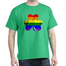Rainbow shamrock T-Shirt