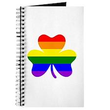Rainbow shamrock Journal