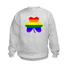 Rainbow shamrock Sweatshirt