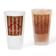 Sons of Liberty Flag Drinking Glass