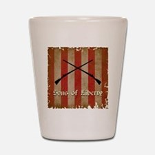 Sons of Liberty Flag Shot Glass