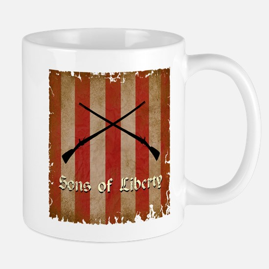 Sons of Liberty Flag Mugs
