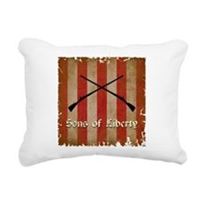 Sons of Liberty Flag Rectangular Canvas Pillow
