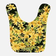 Botanical Daisy Flower Floral Bib