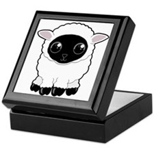 Cute Woolly Sheep Keepsake Box