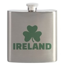 Ireland shamrock Flask