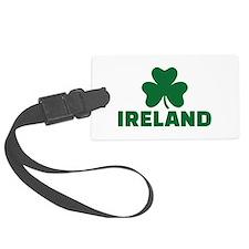Ireland shamrock Luggage Tag