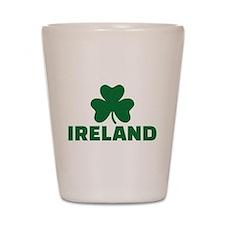 Ireland shamrock Shot Glass