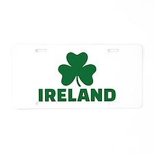 Ireland shamrock Aluminum License Plate