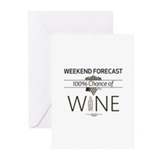 Weekend Forecast Greeting Cards (pk Of 20)