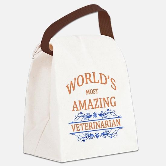 Veterinarian Canvas Lunch Bag