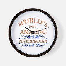 Veterinarian Wall Clock