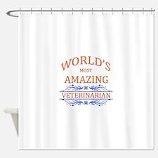 Veterinarian Shower Curtain