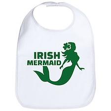 Irish mermaid Bib