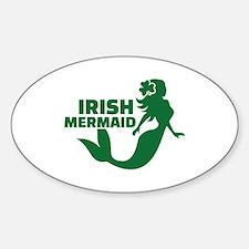 Irish mermaid Decal