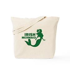 Irish mermaid Tote Bag