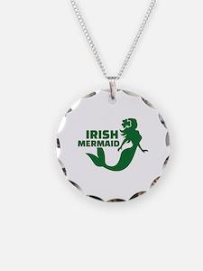 Irish mermaid Necklace
