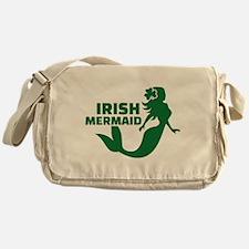Irish mermaid Messenger Bag