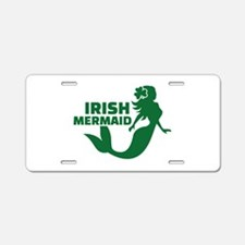 Irish mermaid Aluminum License Plate