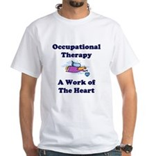Occupational Therapist White T-shirt