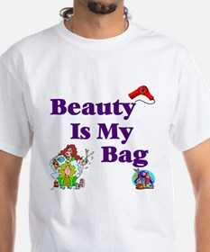 Beautician White T-shirt