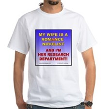 Support Your Wife White T-shirt