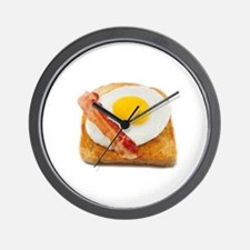 eggs & bacon Wall Clock