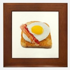 eggs & bacon Framed Tile