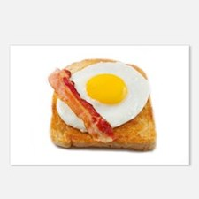 eggs & bacon Postcards (Package of 8)
