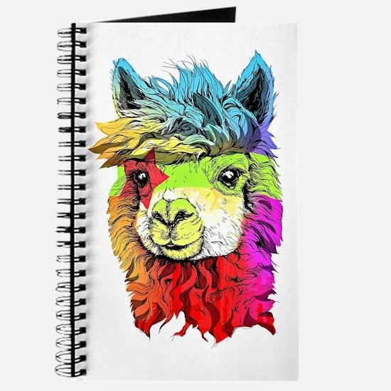 Unique Alpaca Journal