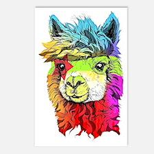 Cute Alpaca Postcards (Package of 8)