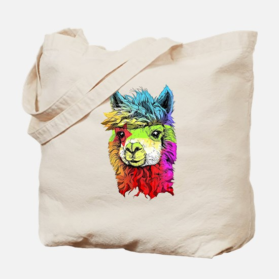 Cute Alpaca Tote Bag