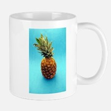 blue pineapple Mugs
