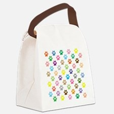 Cute Track Canvas Lunch Bag