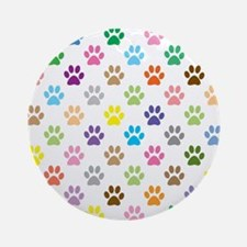 Cute Animal pattern Round Ornament