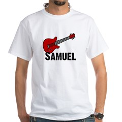 Guitar - Samuel White T-shirt