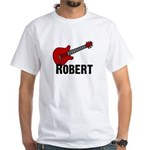 Guitar - Robert White T-shirt