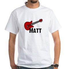 Guitar - Matt White T-shirt