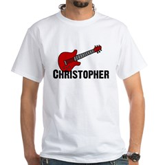 Guitar - Christopher White T-shirt