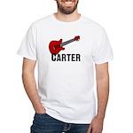 Guitar - Carter White T-shirt