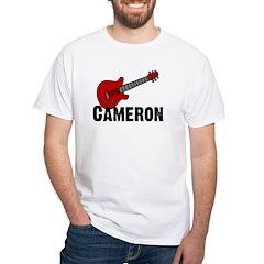 Guitar - Cameron White T-shirt