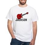 Guitar - Jackson White T-shirt