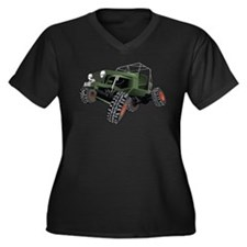 jeep truck rock crawler offroad race Plus Size T-S
