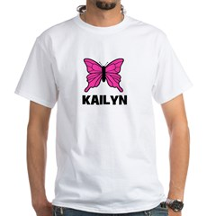 Butterfly - Kailyn White T-shirt
