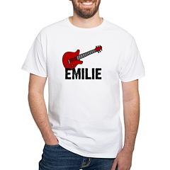 Guitar - Emilie White T-shirt